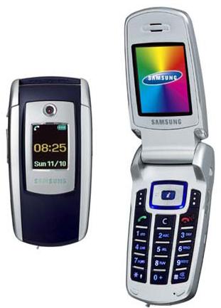 삼성전자 SGH-E700. 일명 '벤츠폰'.