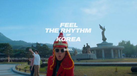 한국관광공사가 제작한 관광 콘텐츠 '필 더 리듬 오브 코리아(Feel the Rhythm of Korea)' 서울편./사진=한국관광공사 유튜브