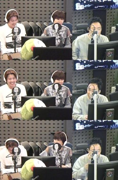 '라디오쇼' 고재근과 조혜련이 수입에 대해 입을 열었다. 사진=KBS CoolFM '박명수의 라디오쇼' 캡처