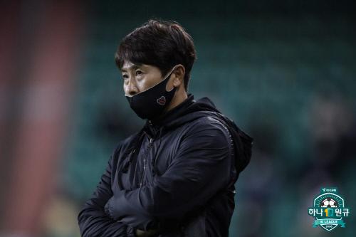 포항 김기동 감독. 제공   한국프로축구연맹