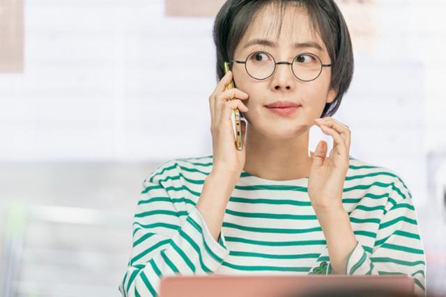 신동미가 '청춘기록'의 특별한 의미를 돌아봤다. tvN 제공