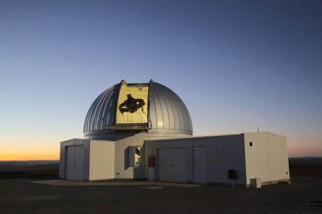 한국천문연구원의 외계행성탐색시스템(KMTNet) 1.6m 광시야 망원경. 천문연 제공