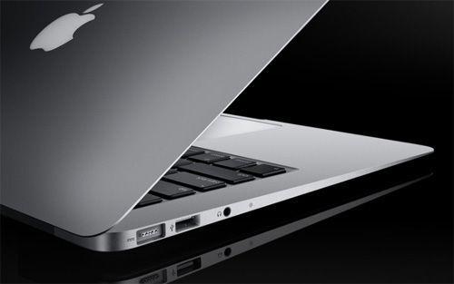 애플 '맥북 에어' 홈페이지 캡처. 이전 모델 모습.