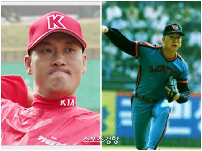 홍현우(왼쪽)와 염종석 | 경향DB