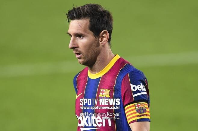 ▲ 바르셀로나와 계약 만료가 7개월 앞으로 다가온 리오넬 메시.