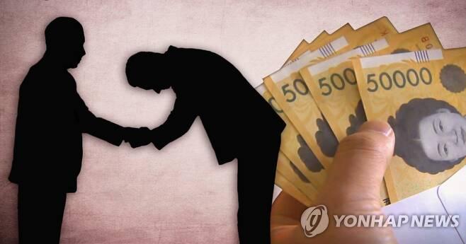 뇌물·청탁 (PG) [장현경, 최자윤 제작] 사진합성·일러스트