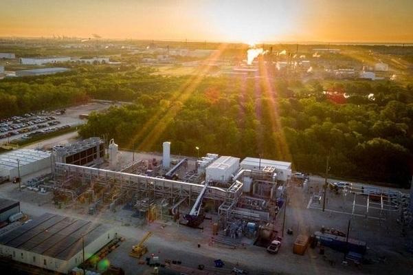 미국 기업 넷파워(NET Power)가 텍사스주에 지은 25MW급 발전 실증 시설./파워(Power) 캡처