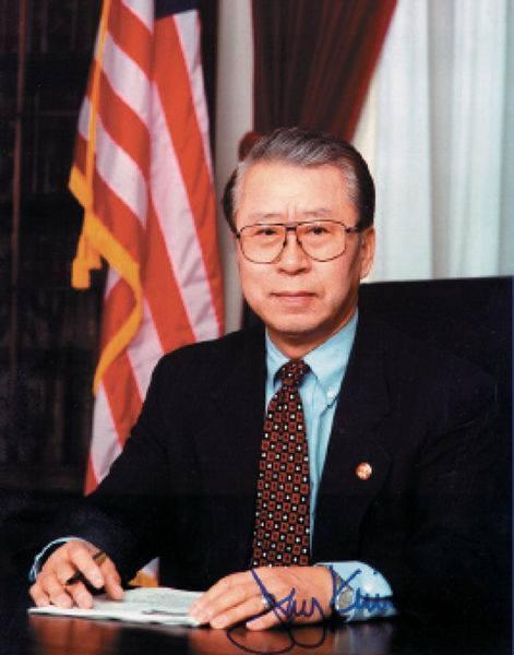 김창준 전 미국 연방 하원의원(공화당).