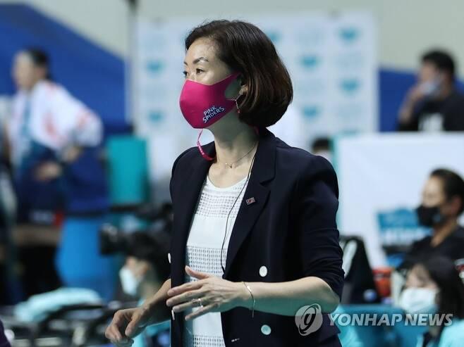 박미희 흥국생명 감독 [연합뉴스 자료사진]