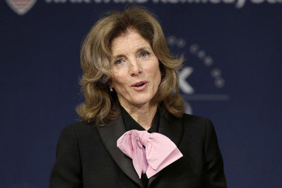 캐롤라인 케네디 전 주일 미국대사. AP뉴시스