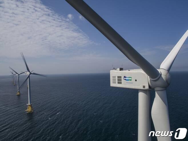 탐라해상풍력.(두산중공업 제공)© 뉴스1