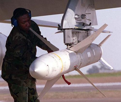 미군의 대레이더 미사일 AGM-88 [FAS 캡처. 재판매 및 DB 금지]