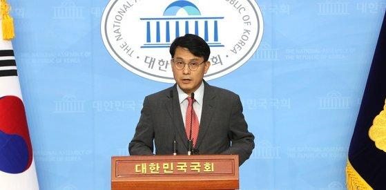 6월 15일 윤상현 무소속 의원. 연합뉴스