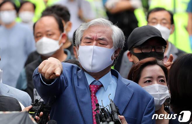 전광훈 목사/뉴스1 © News1 박지혜 기자