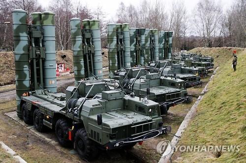 러시아의 S-400 방공미사일 [이타르타스=연합뉴스. 재판매 및 DB 금지]