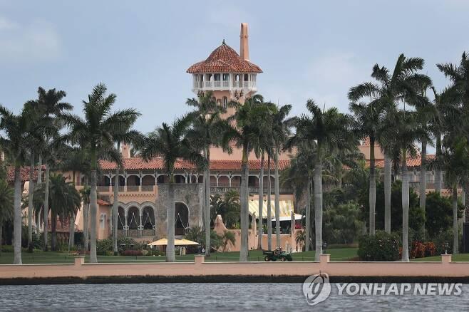 트럼프 대통령이 소유한 플로리다의 마러라고 리조트 [AFP=연합뉴스 자료사진]