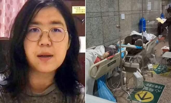 中 시민기자, 코로나19 근원지 우한 보도로 징역 5년형 위기(사진=장잔/유튜브)