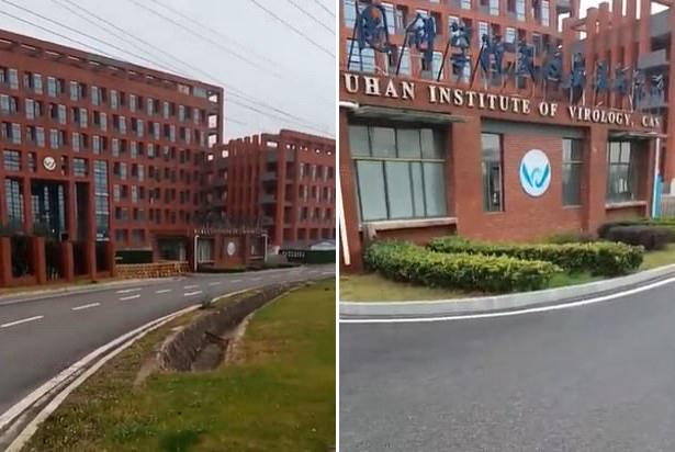 2월 26일 장잔 기자는 경비가 삼엄한 우한바이러스연구소의 외관을 보여줬는 데 이 시설은 당시 코로나 바이러스의 유출이 의심됐던 곳이다. 그녀는 이 연구소는 고압 전기 울타리에 둘러싸여 있으며 군이 운영한다고 주장하기도 했다.(사진=장잔/유튜브)