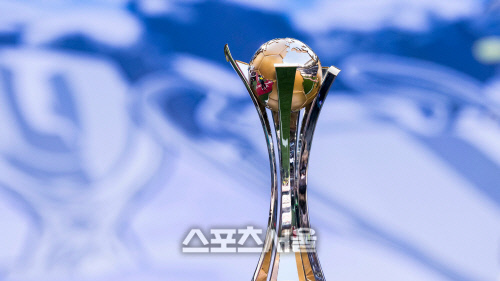 국제축구연맹(FIFA)클럽 월드컵의 우승 트로피.