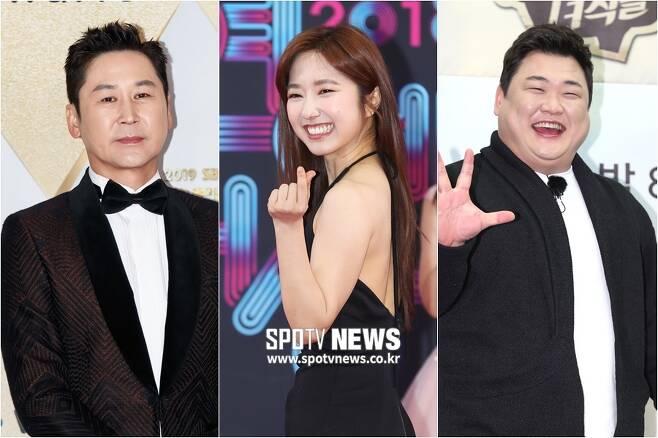 ▲ 신동엽, 이혜성, 김준현(왼쪽부터). ⓒ한희재 기자 ⓒ곽혜미 기자