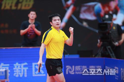 남자단식 세계최강 판젠동. 출처=국제탁구연맹(ITTF) 홈페이지