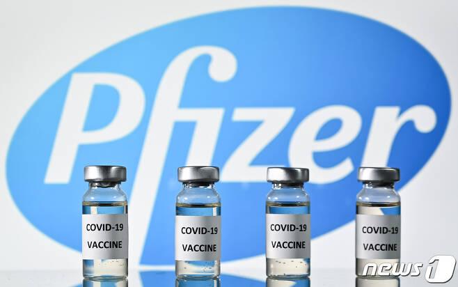 미국 제약사 화이자가 개발 중인 코로나19 백신. © AFP=뉴스1
