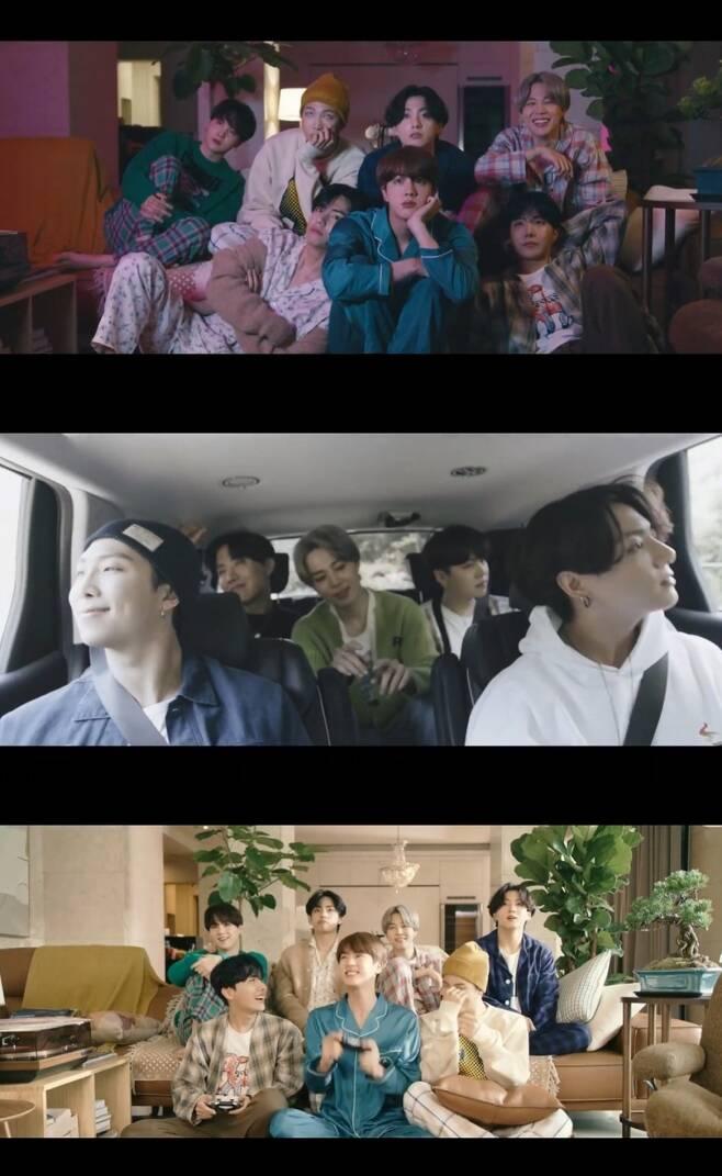 ▲ 방탄소년단. 출처| '라이프 고즈 온' 뮤직비디오 캡처