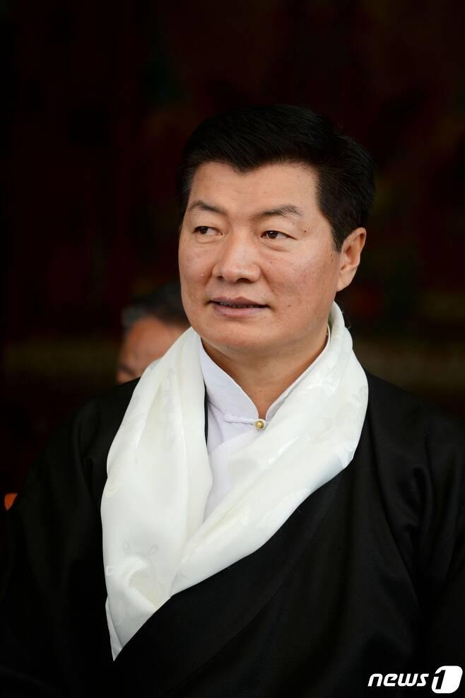 롭상 상가이 티베트 망명정부 대통령 © AFP=뉴스1