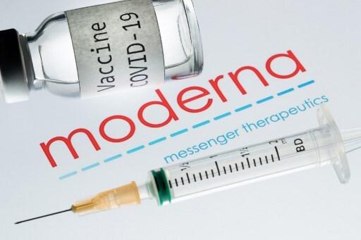 모더나의 코로나19 백신 후보물질/사진=AFP