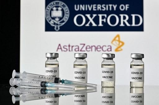 영국 아스트라제네카와 옥스포드대가 공동 개발중인 코로나19 백신 후보 물질/사진=AFP