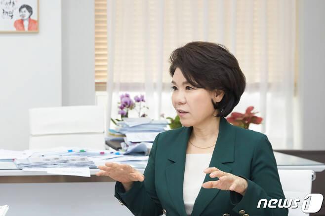 조은희 서초구정장.© 서초구청 제공