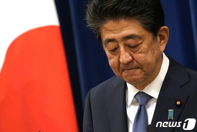 아베 신조 전 일본 총리. © AFP=뉴스1
