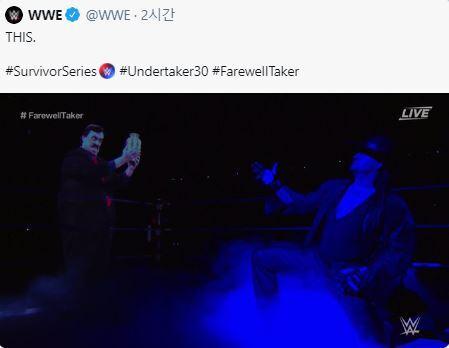 (사진=WWE 트위터)