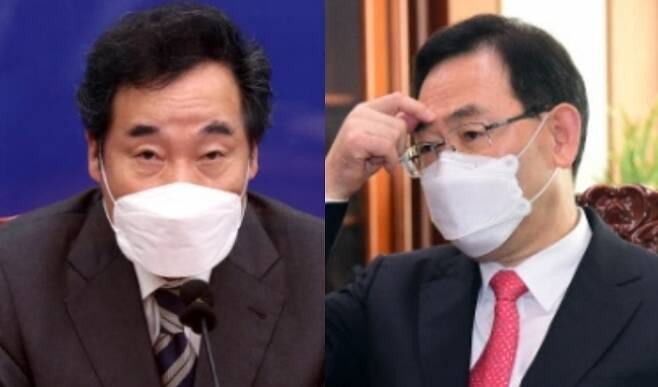 이낙연 더불어민주당 대표 vs 주호영 국민의힘 원내대표 - 연합뉴스