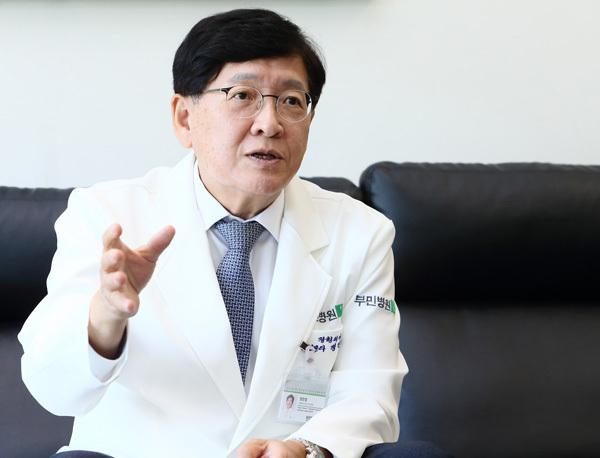 새롭게 취임한 서울부민병원 정진엽 의료원장/부민병원 제공