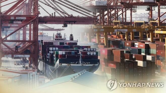 수출(CG) [연합뉴스TV 제공]