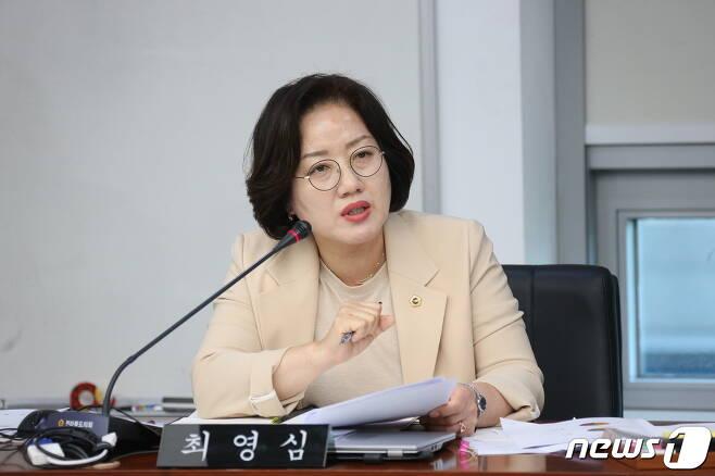 최영심 전북도의원./뉴스1 © News1 김동규 기자
