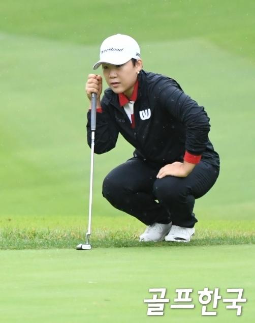 일본여자프로골프(JLPGA) 투어 2020년 마지막 대회인 'JLPGA 투어 챔피언십 리코컵'에 출전하는 신지애 프로. 사진=골프한국