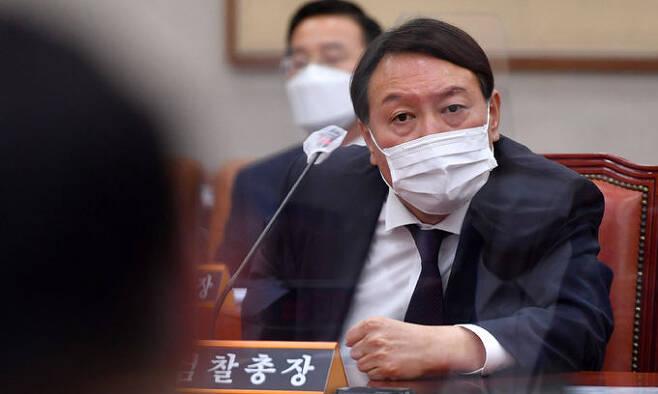 윤석열 검찰총장. 연합뉴스