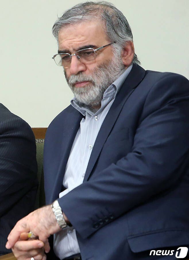 IICT-이란의 핵과학자 모흐센 파흐리자데흐© AFP=뉴스1