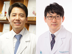 서울아산병원 정신건강의학과 신용욱(왼쪽), 예방의학과 조민우 교수
