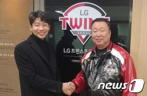 김용의가 LG 트윈스와 1년 총액 2억원에 FA 계약을 체결했다. (LG 트윈스 제공) © 뉴스1