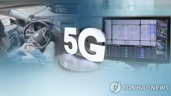 급성장하는 5G 자율주행…관건은 비용안전확보 (CG) [연합뉴스TV 제공]