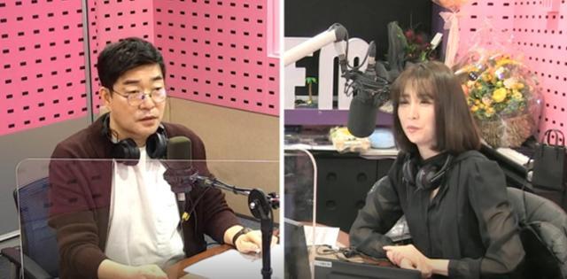 손현주(왼쪽)가 SBS 파워FM '박하선의 씨네타운'에서 게스트로 활약했다. 보이는 라디오 캡처