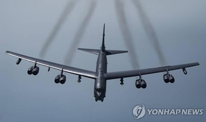B-52H 스트레토포트리스 전략폭격기 [미 공군·AP=연합뉴스 자료사진]