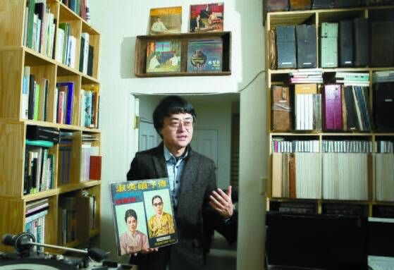 10일 성동구 용답동 국악음반박물관에서 만난 노재명 관장. 권혁재 사진전문기자