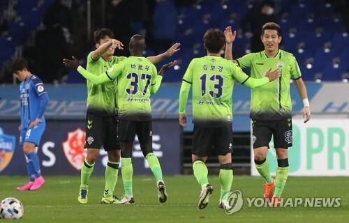2019년 연봉 총액 가장 높았던 전북 선수들 [연합뉴스 자료사진]