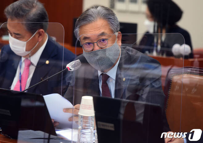 정진석 국민의힘 의원 2020.10.8/뉴스1 © News1 박세연 기자