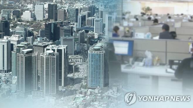 """""""코로나19 타격…기업 내년 R&D투자·연구원채용 감소 전망"""" (CG) [연합뉴스TV 제공]"""