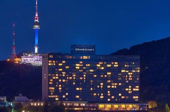 서울 용산구 한남동의 그랜드하얏트서울 호텔 전경. [사진 그랜드하얏트서울]